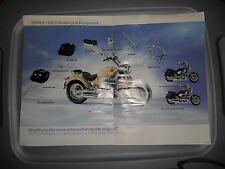 BMW R 1200 C R1200C Motorcycle Equipment Accessories Poster Brochure