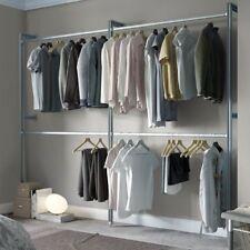 Sistema de almacenamiento de ropa armarios con teleros y barras de colgado Abierto Armario