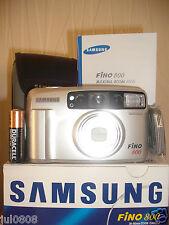 Nuevo Samsung Fino 800 35 mm cámara de cine ~ 38-80 mm SHD Lente de enfoque automático temporizador ~ ~ B2