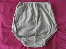"GENUINE VINTAGE GRAHAME GARDINER Grey School Gym Knickers Size 22 W36-38"" 07/04"