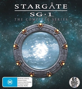 STARGATE SG-1 The Complete Season 1-10/ Continuum/ Ark of Truth : NEW DVD