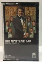 Herb Alpert Tijuana Brass Greatest Hits Volume 2 Cassette Tape CS-3269