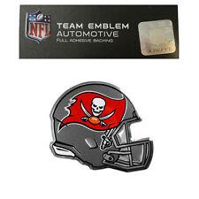New NFL Tampa Bay Buccaneers Color Aluminum Helmet 3D Auto Emblem Sticker Decal