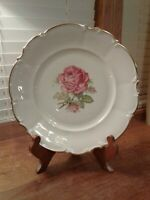 Vintage Hutschenreuther Selb Pink Rose The Dundee Pasco Dinner Plate 2 Available