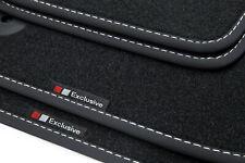 Exclusive-line Design Fußmatten für Audi A6 4F Bj. 2006-2011