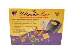 Vikant The Ultimate Box Embroidery Designs Transfer System w/Card New/Unused
