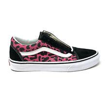 Vans Old Skool Leopard Pink Black Men's 12 Skate Shoes New