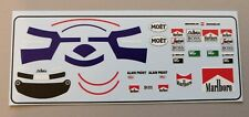 "Mclaren MP4/2 Alain Prost "" Figure Decals "" 1984 1/18 for Solido / GP Replicas"