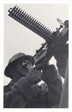 Nostalgia Postcard WW2 Naval Gunner Reproduction Card NS47