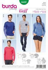 Burda Young Schnittmuster - T-Shirt, Shirt, Kapuzenshirt - Nr.6602