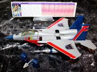 Original Vintage Transformer Starscream G1 Takara Japan authentic