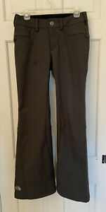 THE NORTH FACE WOMEN'S GRAY JEANS STYLE SKI SNOWBOARD PANTS SIZE SMALL S