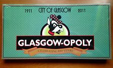 GLASGOW-OPOLY Board Game Local Montana Town Two Rivers Valley County Sealed New