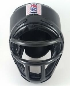 Sparring Gear Pro Force Youth XL Helmet With Face Mask Tae Kwon Do