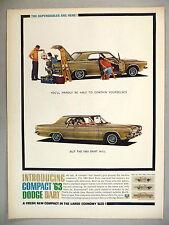 Dodge Dart PRINT AD - 1962 ~~~ 1963 model