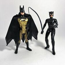 Batman Returns Movie Collection Batman vs Catwoman Figure Set Kenner 1997 Keaton