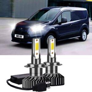 FORD TRANSIT 2013 2x H7 Kit Car LED Headlight Bulbs PURE WHITE 6500K