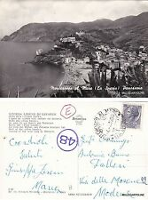 # MONTEROSSO AL MARE: PANORAMA  - GOLFO DELLE 5 TERRE  1960
