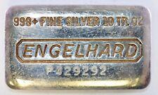 Engelhard 10 Oz. .999+ Fine Silver Bar (#6144)