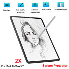 2PCS Anti Glare Touch Film Screen Protector for iPad Air/pro 9.7 inch Screen Use