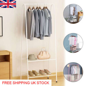 Clothes Rail Rack Garment Dress Shirts Hanging Display Stand Shoes Storage Shelf