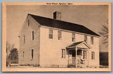 Postcard Spencer MA c1949? Howe House Elias Howe