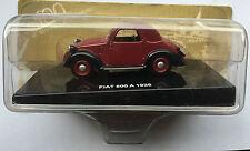 """DIE CAST """" FIAT 500 A - 1936 """" 100 ANNI DELL' AUTOMOBILE"""