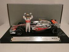 F1 McLaren Mercedes MP 4-22 #2 Lewis Hamilton 1. vittoria Canada 2007 BERLINA ED. 1:18