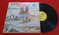 70s Venezuelan Latin Folk VENEZUELA Y SU MUSICA LP Vals * Tonada Harp