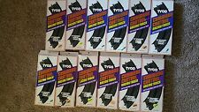 """Vintage Tyco Command Control Curved Racing Track Sections 9"""" NOS"""