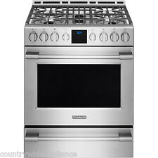 "Frigidaire PROFESSIONAL Stainless 30"" Gas Range Front Controls FPGH3077RF"