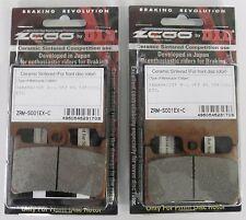 ZCOO 2 COPPIE PASTIGLIE FRENO ANTERIORE EX-C PER MV AGUSTA BRUTALE R 910 2007
