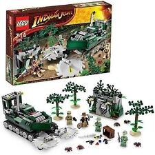 NEW LEGO INDIANA JONES 7626 JUNGLE CUTTER CRYSTAL SKULL