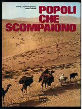 CAPITANIO MARIA ANTONIA CORRAIN CLETO POPOLI CHE SCOMPAIONO MONDADORI 1975