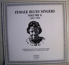 FEMALE BLUES SINGERS LP 1923-1929 Fanny May Goosby Ruth Sadie Green Betty Gray