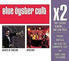 BLUE OYSTER CULT X2 2 DISC CD BOX SET AGENTS OF FORTUNE/SPECTRES BRAND NEW