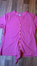Marks and Spencer Women's Semi Fitted Mandarin Collar Tops & Shirts