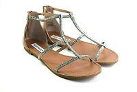 Steve Madden Beven Women's Flat Rhinestones Sandals Size 6.5