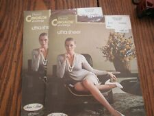 Sears Cling-Alon Stockings set of 2 NEW Sandstone