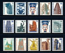 GERMANY - BERLIN . 1987-90 Historic Sites (9N543-557) . Mint Never Hinged