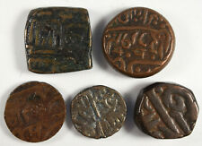 Five Ancient Indian Coins Lot