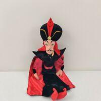"Disney Store Aladdin Jafar Large Plush Doll 25""  Black Red"