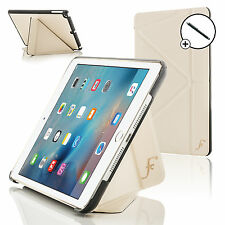 White Smart Case Cover Stand for Apple iPad Mini 4 with Free Stylus