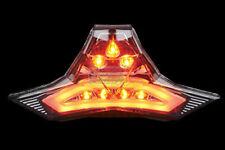 SMOKE LED Turn Signals L+R Taillight KAWASAKI Z250 2019 20 E-MARK Certificated