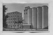1928 Era No 33 Flour Mills & Elevators Weiser Idaho Real Photo  RPPC