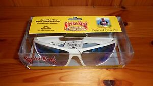 Strike King Polarized Fishing Sunglasses - Monsta Black or Monsta White Color
