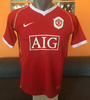 MANCHESTER UNITED Football Shirt 2006/07 Maillot Soccer Jersey Trikot Camiseta