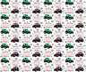 Personalised Christmas Gift Wrap TRACTORS Wrapping Paper