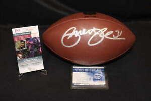 PRIEST HOLMES SIGNED WILSON NFL FOOTBALL KANSAS CITY CHIEFS JSA COA ZA539