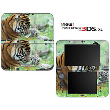 Sweet Baby Tiger Cub with Mom for New Nintendo 3DS XL Skin Decal Cover